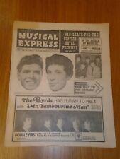 NME #966 1965 JULY 16 CLIFF RICHARD TOM JONES BYRDS BEATLES FORTUNES HOLLIES