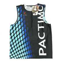 NWT Pactimo Blue Cycling Tri Top Sleeveless Blue
