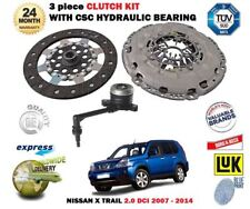 For Nissan X Trail 2.0 DCI 150bhp 2007-2014 Clutch Kit with CSC Slave Cylinder