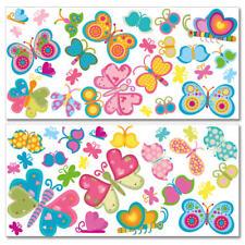"""Wandkings Wandsticker """"Süße Schmetterlinge"""" Mega-Set Aufkleber Sticker Deko"""