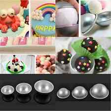 2X Ball Shaped Round Half Sphere Cake Pan Tin Fondant Decorating Mould Cake Mold