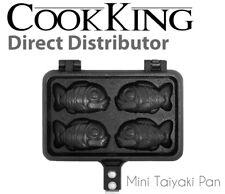 CookKing - Taiyaki Japanese Fish-shaped Pancake Double Pan Mini Fish Pan