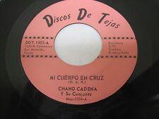 CHANO CADENA Y SU CONJUNTO on Discos De Tejas San Antonio TEXAS