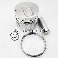 4 Sets STD Piston Set (Pin & Clip) W Rings for Mitsubishi S4E S4E2 Engine