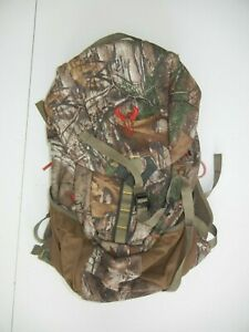 BADLANDS Brown RealTree CAMO H2 BACKPACK Hiking Hunting Gear Travel Day Gym Bag