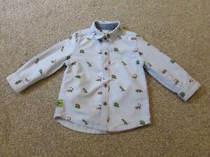 Next boys 12-18 months 1-1.5 years Dinosaur shirt - Excellent condition