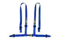 NEW! QMS ECE Harness Bolt In Budget 4 Point Road legal BLUE street belts