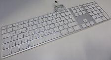 Apple Keyboard (MB110D/A) Alu USB Tastatur *deutsches Layout* mit Ziffernblock