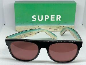 RetroSuperFuture 645 Flat Top Florida Frame Size 52mm Sunglasses NIB