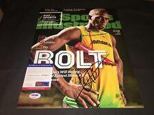 Usain Bolt Signed 2016 RIO Olympics 11x14 Photo 9 Gold Medals Jamaica PSA/DNA #2