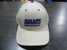 NEW VINTAGE New York Giants Hat Cap White Blue Fitted 7 3/8 NFL Football 90s *