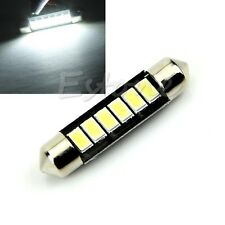 42mm 6-LED 5730 Super Bright 12V Car Interior Festoon Dome Light Roof Lamp Bulb