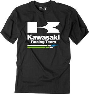 Factory Effex Kawasaki Racing T Shirt Black or White Motorcycle T-shirt Tee