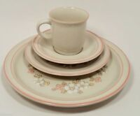 HEARTHSIDE CHANTILLY DISHES CHINA JAPAN FLEUR DEBOIS 4 PIECE PLACE SETTING