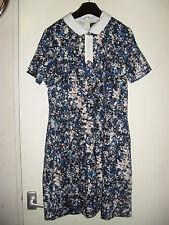 Sugarhill Ladies Multi Coloured FINOLA Smudge Tunic Dress Size UK 14