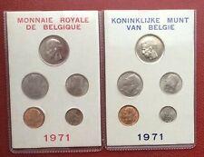 Belgique - Serie FDC 1971 FR + VL