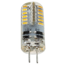 G4 2W Lampada Lampadina 48 LED SMD 3014 Bianco Caldo AC/DC12V S4Y5