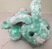 "Dandee Musical Plush Bunny Rabbit Stuffed Animal Toy Easter ""Candy Land"" 8"""