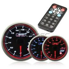 Prosport 52mm Voltage Gauge Smoked Stepper with Remote Control