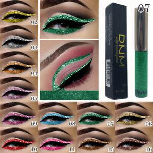 DNM Waterproof Liquid Eyeliner Glitter Long-Lasting Shinning Make Up Eye Liner