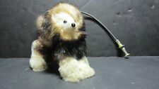 Unique Jumping Dog Push Wire Toy Collectible Pomeranian Look Made in France