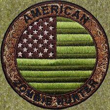 Zht Gear: American Flag Multicam Zo 00006000 Mbie Hunter Patch W/Velcro ~The Walking Dead