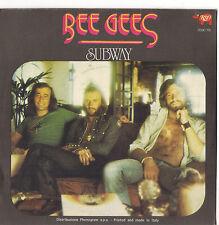 BEE GEES - YOU SCHOULD BE DANCING - SUBWAY - 45 GIRI RSO 2090 195