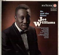 JOE WILLIAMS ~ ME & THE BLUES ~ 1964 UK 12-TRACK STEREO LP ~ RCA VICTOR SF-7638