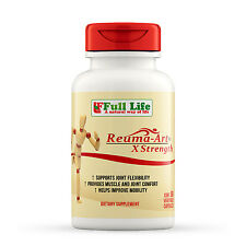 Full Life Reuma-Art X-Strength 60 Caps Natural Herbal Pain Relief for Joint Pain