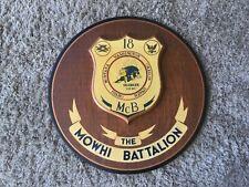 New listing Rare:Vintage Us Navy Seabees Plaque 18 McB The Mowhi Batallion