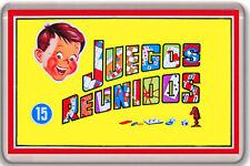 JUEGOS REUNIDOS IMAN NEVERA FRIDGE MAGNET