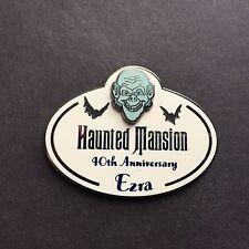 DLR Haunted Mansion 40th Anniversary Cast Member Ezra Name Tag Disney Pin 71621