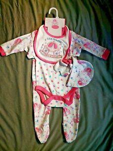 BORN IN 2021 Baby Clothes Cotton Baby Set 5 pieces NEWBORN ❤️Little Princess ❤️