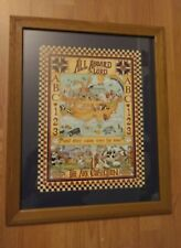 """Home Interiors All Aboard Saids The Lord"""" Noah'S Ark Picture, The Ark Collection"""