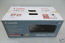 Canon PIXMA IP1800 Digital Photo Inkjet Printer USB 1200dpi 20ppm 1855B002 NEW
