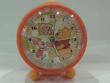 Winnie The Pooh Orologio SVEGLIA da Tavolo in PVC IDEA REGALO COMPLEANNO
