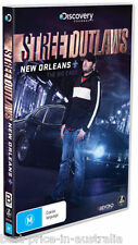STREET OUTLAWS: New Orleans + The Big Easy DVD BRAND NEW RELEASE 2017 2-DISCS R4