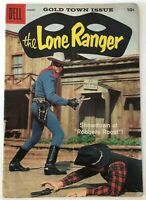 THE LONE RANGER 122 / 4.0 VERY GOOD + / DELL Comics / 1958 Silver Age