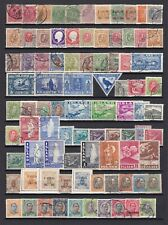 Iceland - small, but good collection, used/mh.