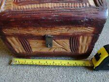 Storage small wooden box