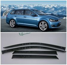 For VW Golf 7 Variant/Wagon 2013-2017 Side Window Visors Guard Vent Deflectors