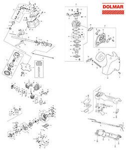 Ersatzteile für DOLMAR MS-27 C Motorsense