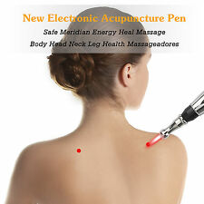 Meridian Acupuncture Electronic Energy Pen Laser Pulse Analgesia Therapy Machine