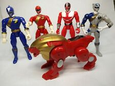 5 Power Rangers Action Figures Collection