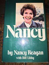 NANCY BY NANCY REAGAN SIGNED AUTOGRAPH FIRST EDITION BOOK DUST JACKET JSA COA