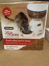 Petmate Aspen Pet Le Bistro 18 Cup (5 lb) Programmable Feeder