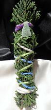 """Cedar Incense Smudge Stick, Priestess made & Blessed, 5-6"""" + AVENTURINE Reiki"""