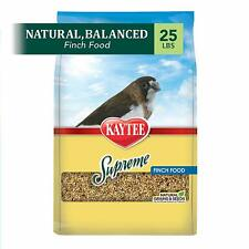 Kaytee Supreme Finch Food,25 lb,Natural seeds & grains,High quality ingredients