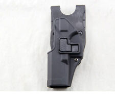 Quick Tactical Holster Left Hand Paddle Belt Holster for Glock 17 18 19 22 23