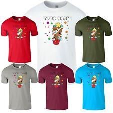 Personalised Mens Womens Spotty T-Shirt Children Day Kids Boys Girls TShirt